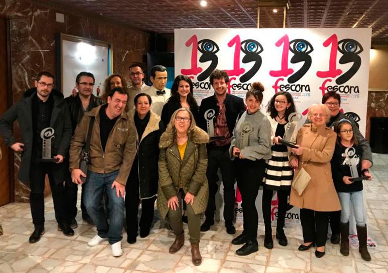 Cortometrajes ganadores FESCORA 2018